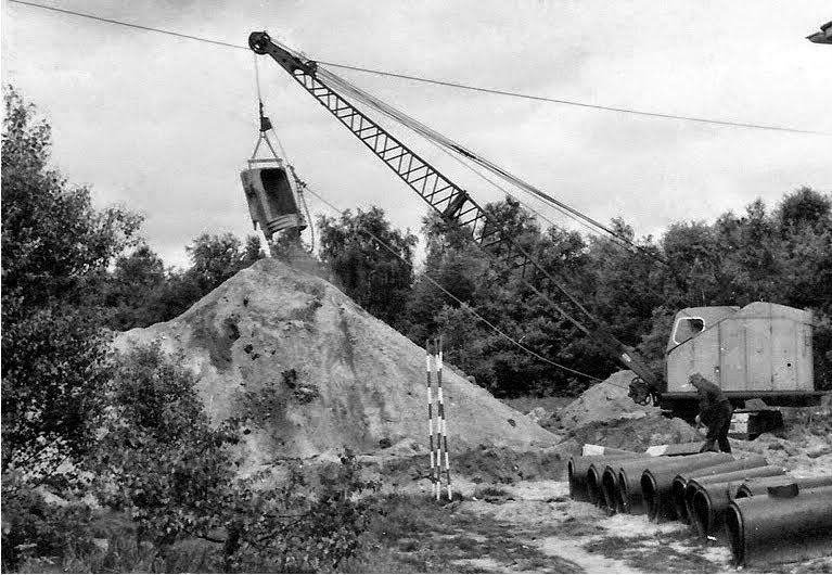 Ruston 22 RB Dragline.[1]